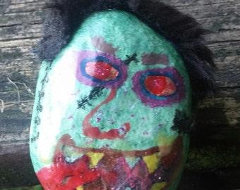Pet Rock Halloween Monster