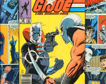 G.I. Joe Cobra Comic Book Wall Art