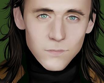 Loki Laufeyson (Thor) - Tom Hiddleston Print