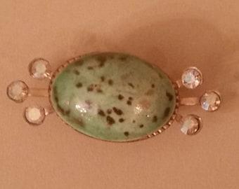 Vintage Robins egg pin/brooch