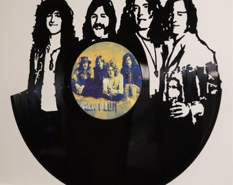 Led Zeppelin Record Wall Art
