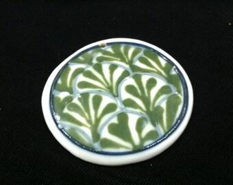 Cornish Hill Pottery Ceramic Pendant