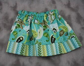 Infant/Toddler Teal Skirt