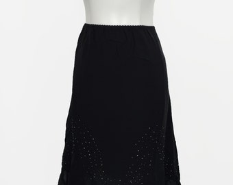 Beaded 70s Flare Skirt by Romerecci
