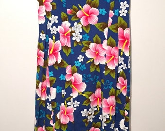1960's Ui-Maikai Hawaiian Dress  /// FREE SHIPPING
