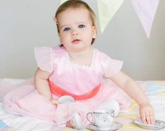 Party Dress PDF Pattern (size 12-18 months)
