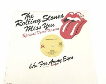 The Rolling Stones Miss You Disco Record Album