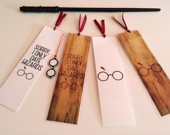 Harry Potter Dating Wizards//Handmade: Bookmark