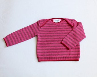 Knit sweater of Cora from pure Merino Wool