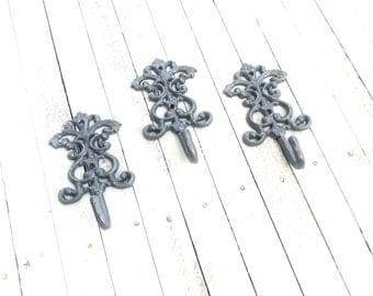 Iron Ornate Hooks, Home Decor, For The Home, Key Holder, Customize