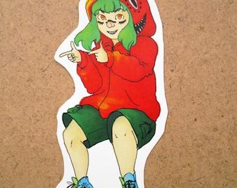Gumi Matryoshika Sticker (Vocaloid)