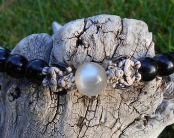 Gargoyle Beaded Bracelet