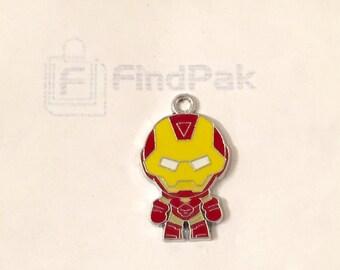 Iron Man Pendant | Iron Man from The Avengers Charm