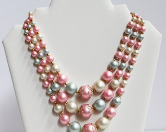 Pastel Vintage Necklace