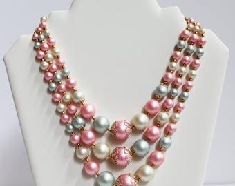 Pastel Vintage Necklace