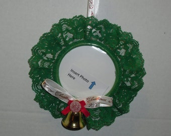 Christmas Photo Ring Ornament