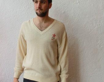 Wool Calgary Winter Olympics Sweater