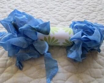 GRUNGY RIBBON - Cornflower Blue