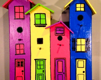 """A """"Whimsical"""" style Bird House. #2 in our Series"""