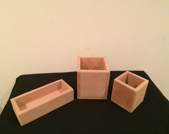 Red Ceder Box Set - 3 Piece