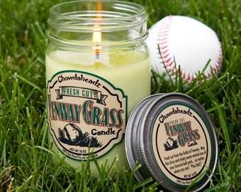 Fresh Cut Fenway Grass Candle 100% Soy