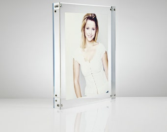 Acrylic Perspex Magnetic Photo Frame | Premium acrylic | Made in the UK