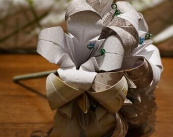 Medium customizable origami bouquet - half dozen