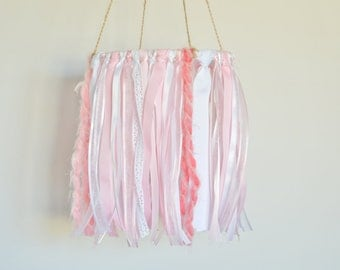 Baby Girl Mobile, Crib Mobile, Baby Mobile, Pink Nursery Mobile, Nursery Decor, Baby Girl Nursery, Baby Room Decor, Pink Nursery Decor
