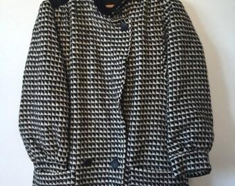 1980's | 100% wool coat