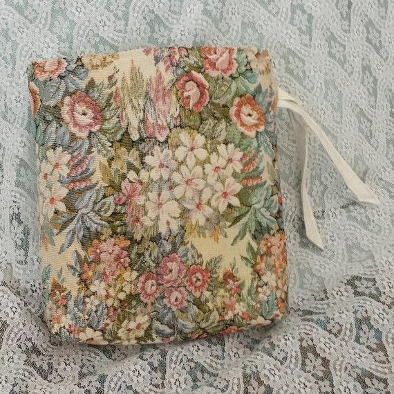 sac de rangement s che cheveux rose floral par thegiftagainshop. Black Bedroom Furniture Sets. Home Design Ideas