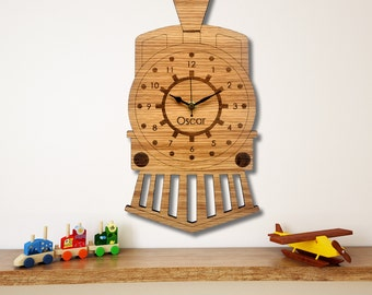 Train Wall Clock, Children's Clock