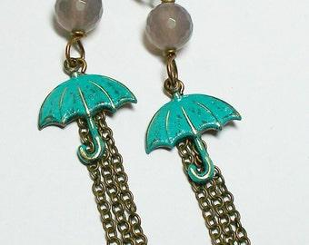 Rainy Day -- earrings