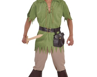"""Gents Robin Hood / Peter Pan / Medieval  Costume 38-50"""" chest"""