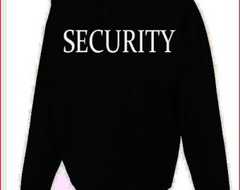 Security Hoodie Fast Shipping