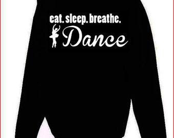 Eat.Sleep.Breathe. Dance Hoodie Youth and Adult Sizes