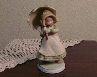 Vintage Holly Hobbie Showers of Sunshine Figurine (1979)