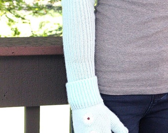 Fingerless Gloves with Opera Warmers
