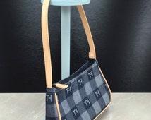 Vintage Hilfiger, Tommy Hilfiger Purse, Tommy Hilfiger Bag, Vintage Denim Purse, Denim Handbag, 90s Purse, 1990s Purse, 90s Handbag, Blue