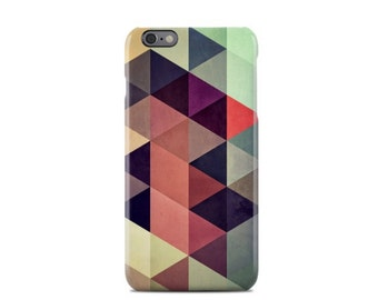 Colorful Geometric Pattern iPhone 6 Case - iPhone 6S case - iPhone 6 Plus Case - iPhone 5 Case - iPhone 5S Case - iPhone 5C Case