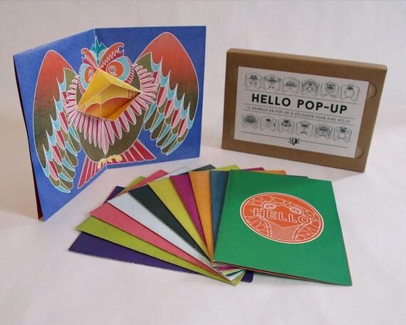 12 cartes pop up fabriquer hello pop up diy carte - Carte pop up a fabriquer ...