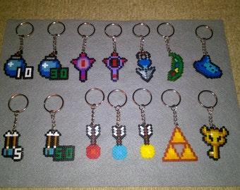 Legend of Zelda keyring