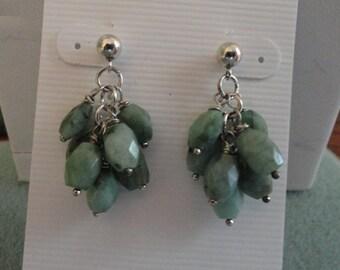 Emerald Earrings  -  #307