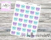 Crockpot/Slow Cooker Stickers FN-008 || 35 Planner Stickers