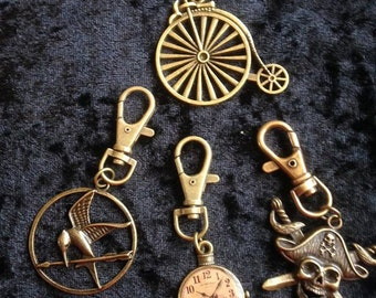 Steampunk Keyrings