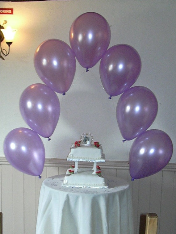 Small diy balloon arch kit for wedding or party decoration for Balloon arch decoration kit