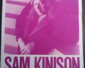 Satin Backstage Pass 1989! Sam Kinison ~ Out Of Control Tour