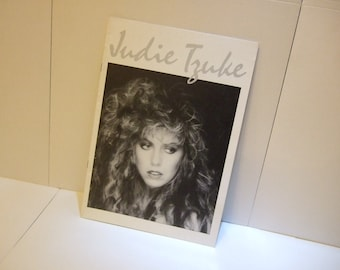 1980's  Judie Tzuke UK Tour Programme