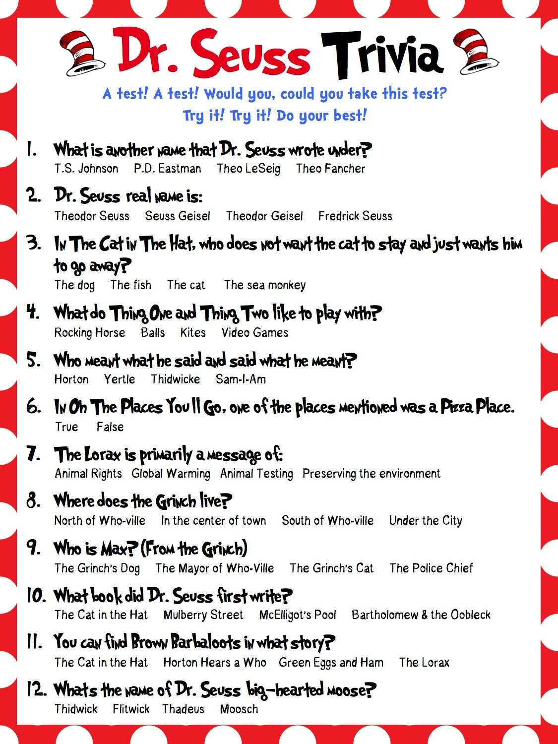 This is a photo of Gutsy Food Trivia Questions and Answers Printable