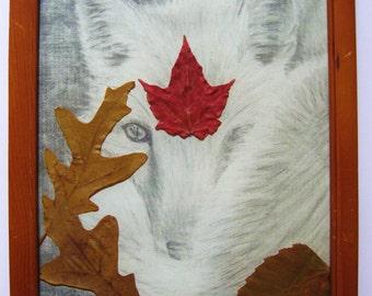 Fox Spirit Totem Drawing