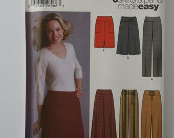 Simplicity 5462  - Skirt and Pants -  6 styles made easy.
